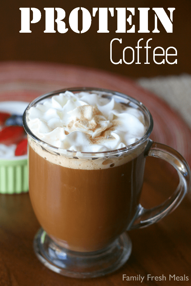 Protein Coffee via @familyfresh