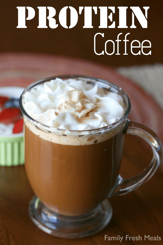 Protein Coffee - FamilyFreshMeals.com