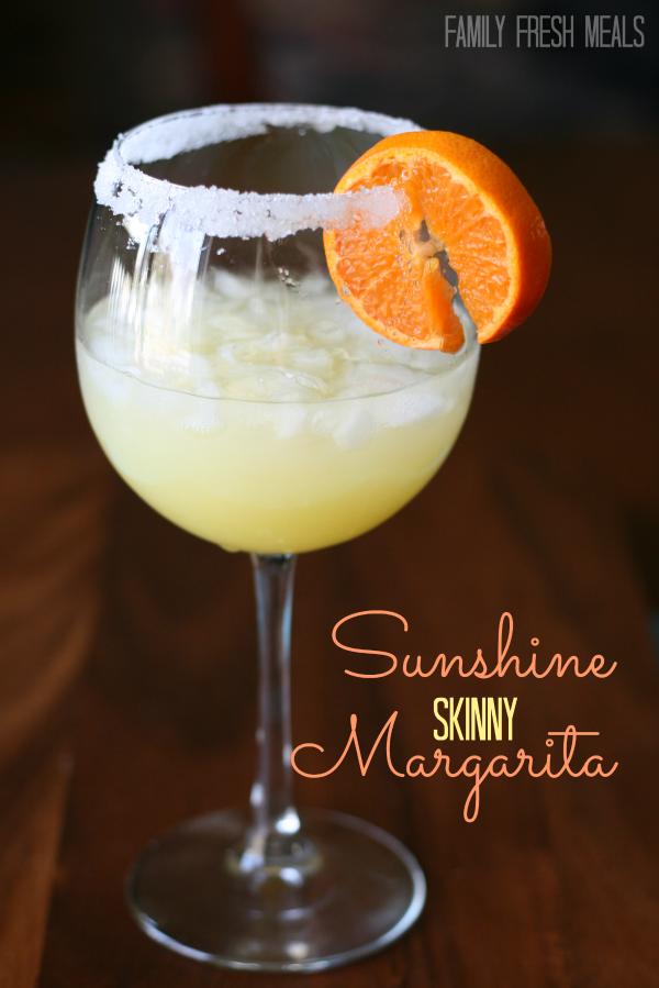 Sunshine Skinny Margarita - FamilyFreshMeals.com