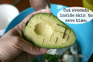 Avocado tip