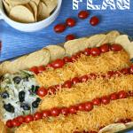 Easy Taco Salad Flag
