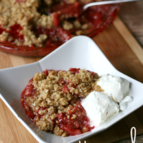 Homemade Strawberry Cobbler and A Chance to Win Your Own LG EasyClean™ Double Oven Range!