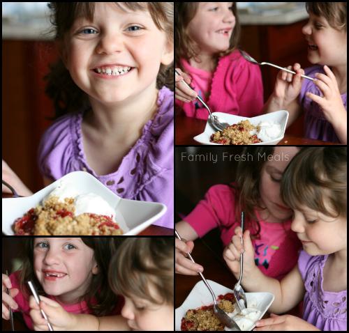 Strawberry Cobbler - Enjoy Family Fun