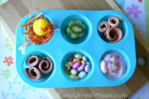 Summer Lunch Ideas for Kids : Muffin Tin Meal - Fun Lunch
