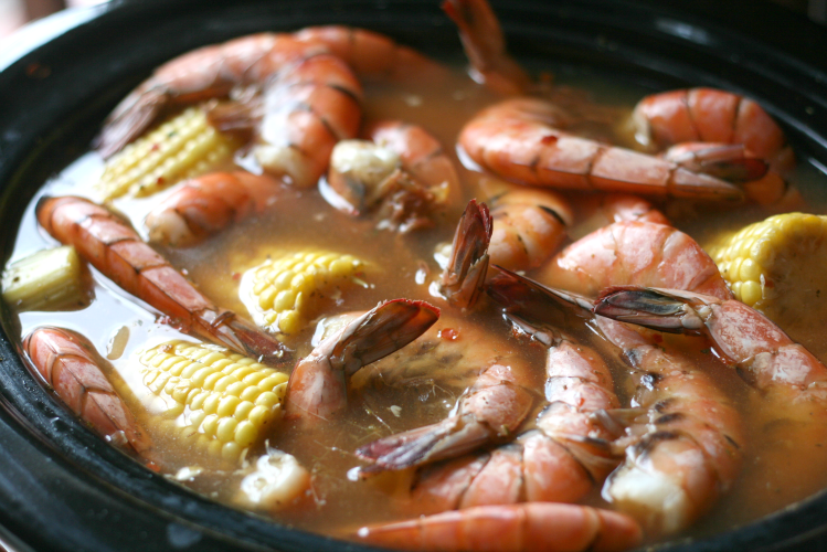 Crockpot Low Country Boil   Step 3
