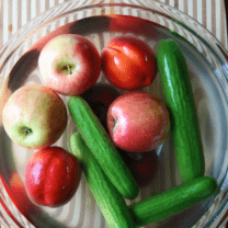 How to Clean Fruits and Vegetables