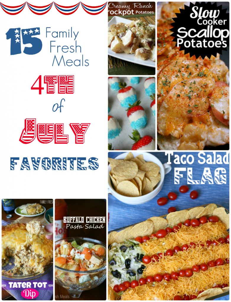 Fourth of July Favorites - FamilyFreshMeals.com