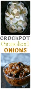 Crockpot Caramelized Onions
