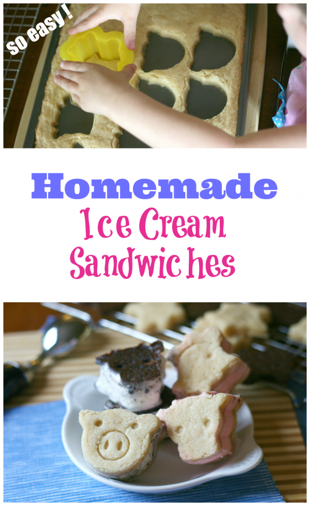 Easy Homemade Ice Cream Sandwiches