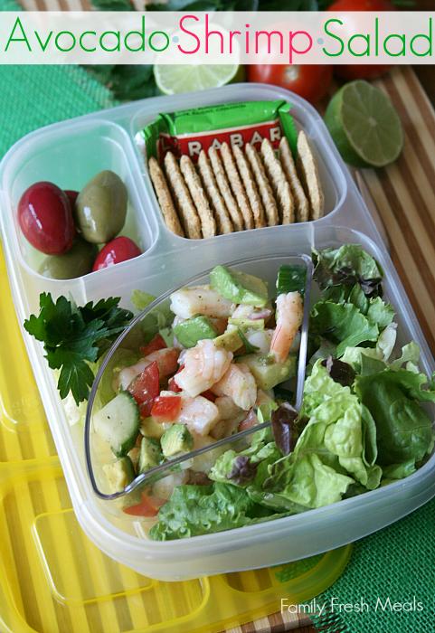 Avocado Shrimp Salad Family Fresh Meals