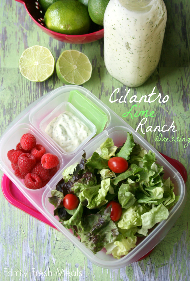 Cilantro Lime Ranch Dressing