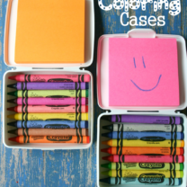 DIY Travel Coloring Case