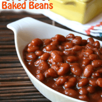 Mom's Famous Crockpot Baked Beans