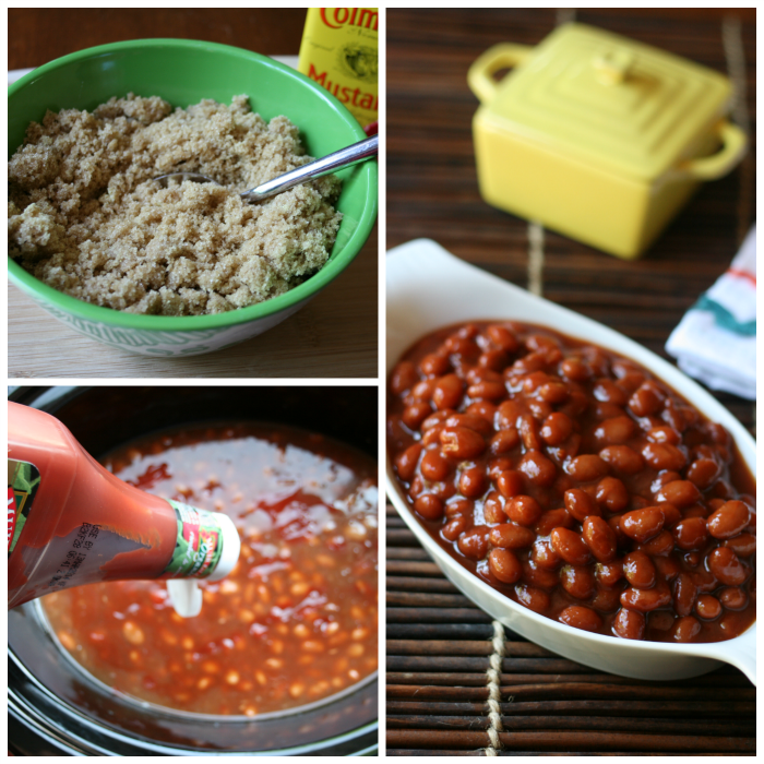 Mom's Famous Crockpot Baked Beans - Family Fresh Meals