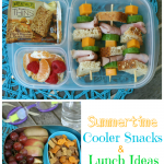 Summertime Cooler Snacks and Lunch Ideas