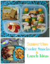Summertime cooler snacks and lunch ideas - Family Fresh Meals