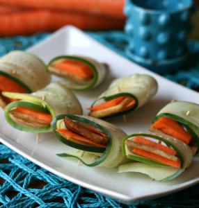 Tofu Vegetable Rolls - Recipe