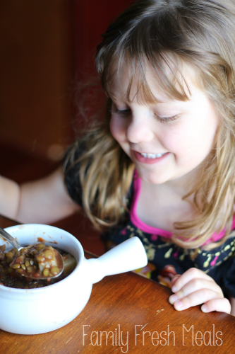 Easy Crockpot Vegetable Lentil Soup Recipe - FamilyFreshMeals.com