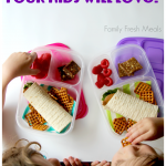 Back to School Lunch Meal Plans with MOMables