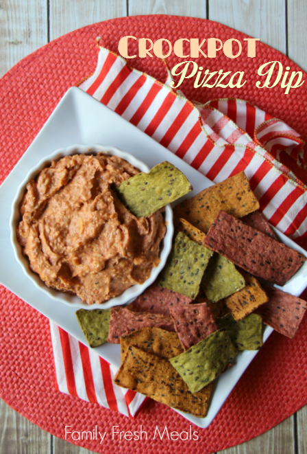 Amazing game day dip - Easy Crockpot Pizza Dip - Family Fresh Meals