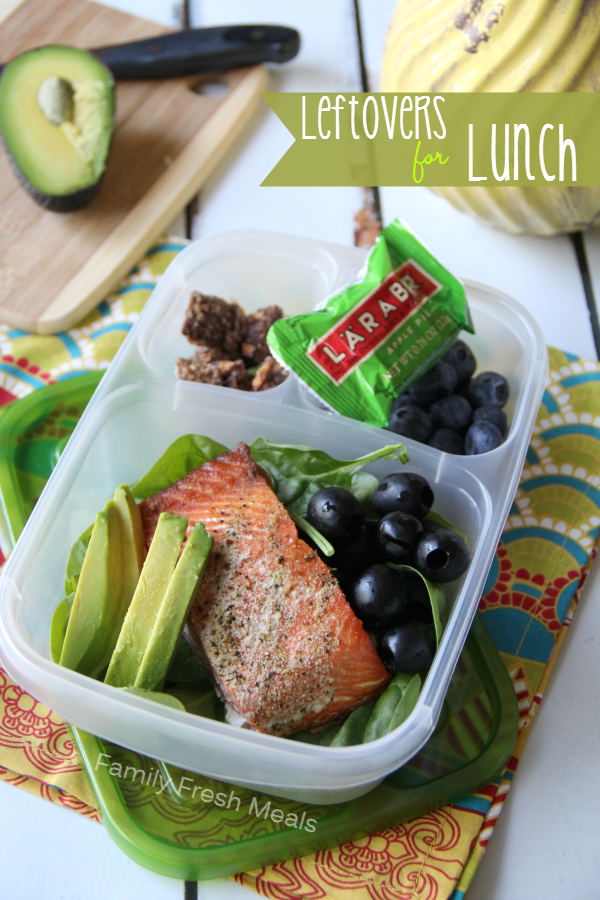 Adult lunch idea from Family Fresh Meals