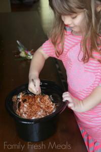 Crockpot Pizza Dip - Family Fresh Meals