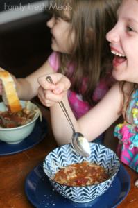 Crockpot Stuffed Pepper Soup - Family Fresh Meals