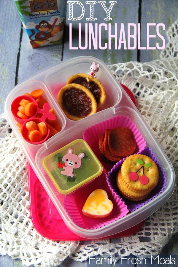 DIY Lunchables - FamilyFreshMeals.com