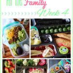 Fun Lunch box Ideas for the Family Week 4