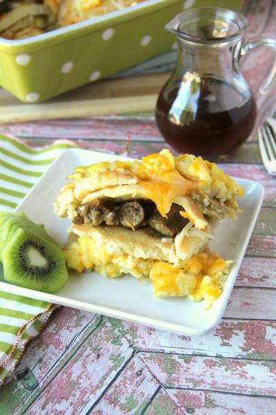 FamilyFreshMeals.com - Breakfast Lasagna Casserole