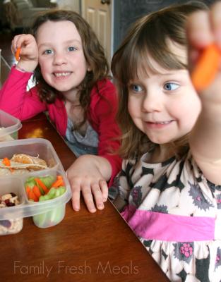 Lunchbox Ideas - FamilyFreshMeals.com