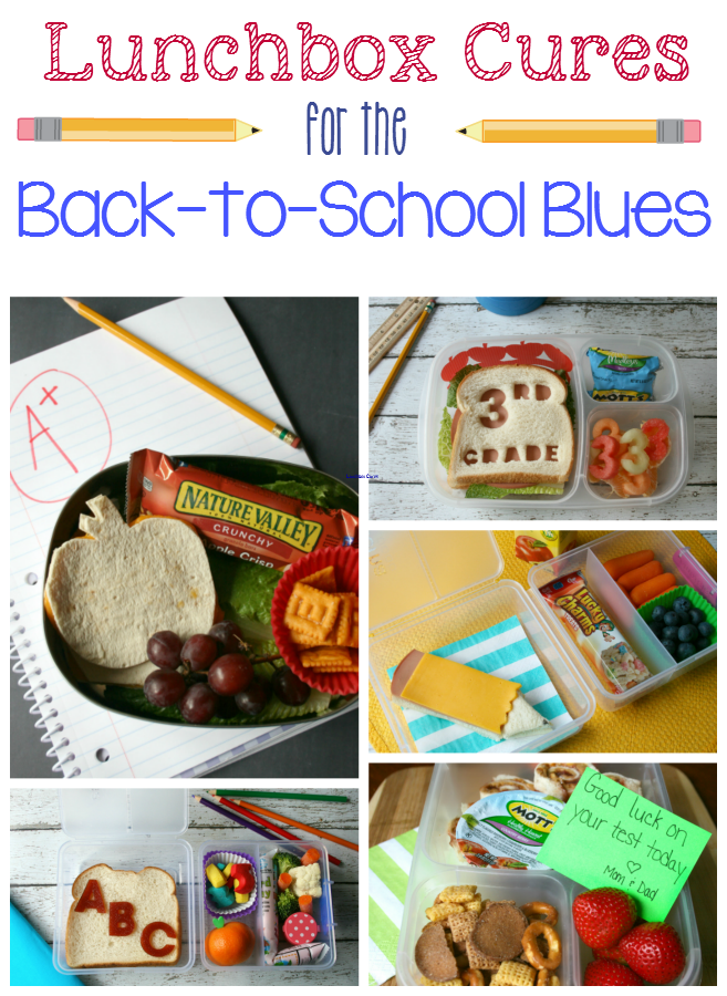 Back to school lunch ideas - familyfreshmeals.com