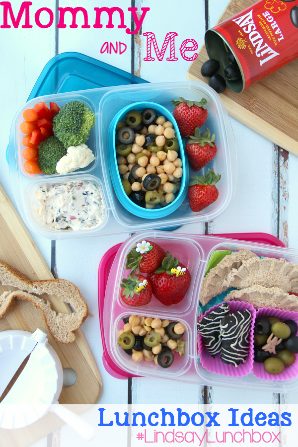 Ultimate Lunch box Mommy and Me lunchbox Ideas -- Family Fresh Meals #LindsayLunchbox