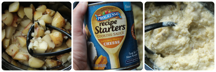 Easy Cheesy Crockpot Mashed Potatoes - Steps