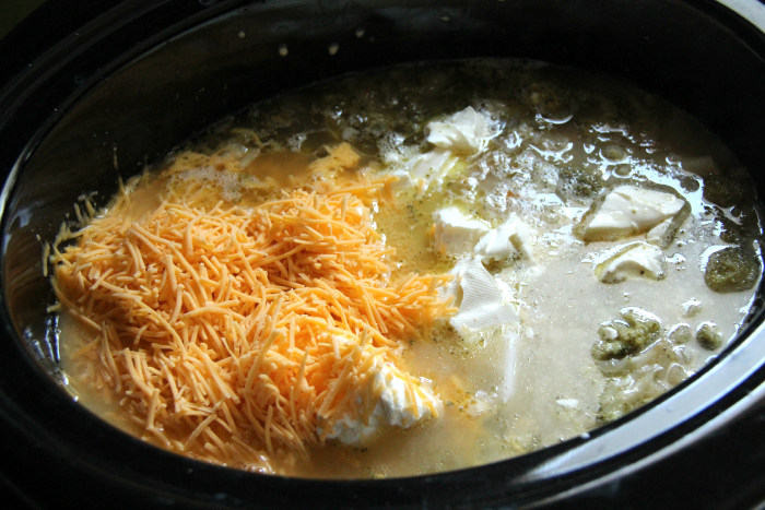Crockpot Broccoli Cheddar Soup - Step 2