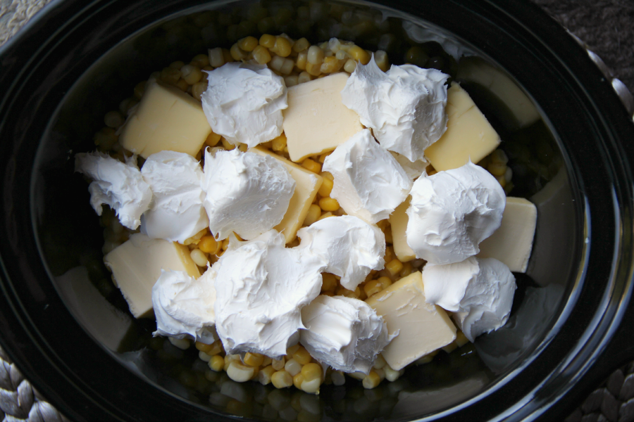 Crockpot Creamed Corn - Family Fresh Meals - So EASY!