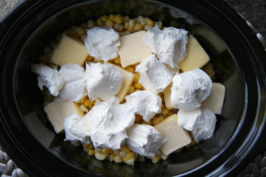 Crockpot Creamed Corn - Family Fresh Meals - So EASY!
