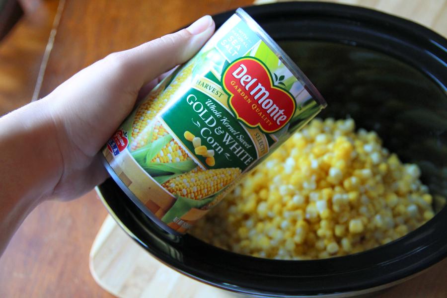 Crockpot Creamed Corn - SO EASY!
