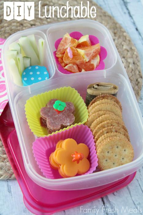 DIY Lunchables with FamilyFreshMeals.com
