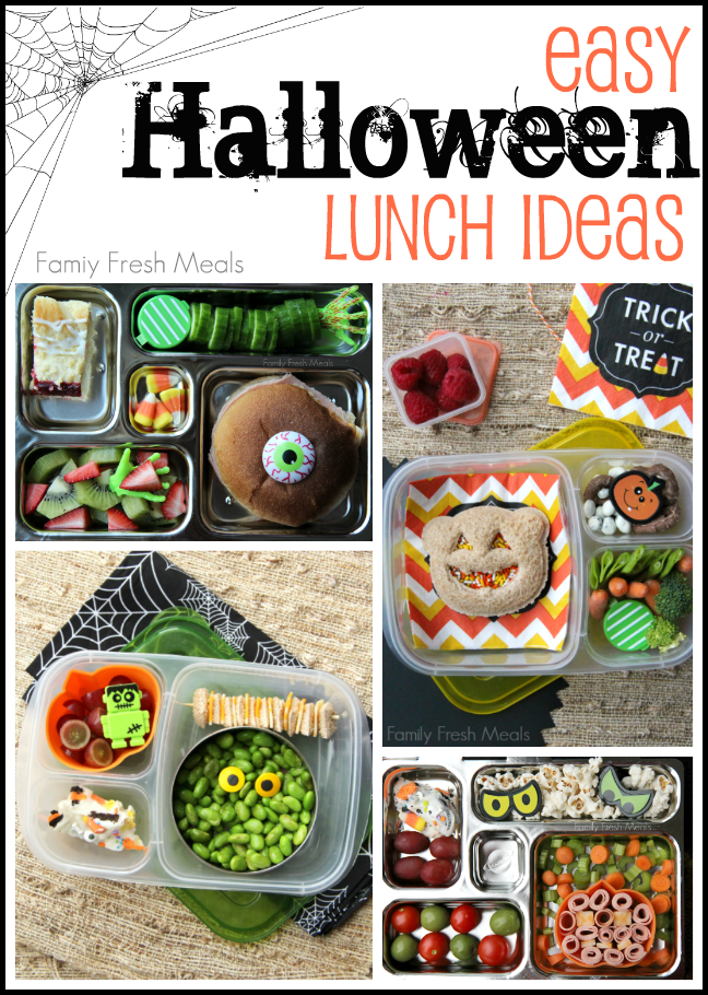 fun and easy halloween lunch ideas family fresh meals