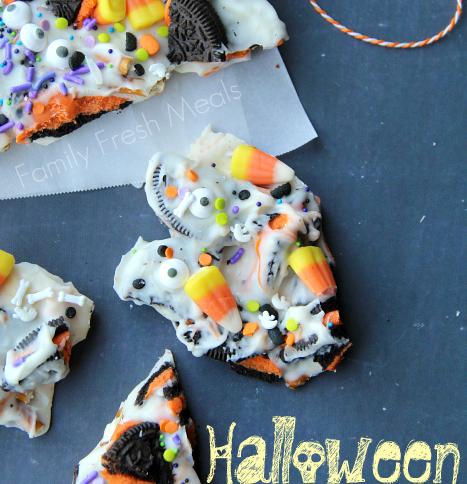 Halloween Bark - Fun Halloween Food for kids! --