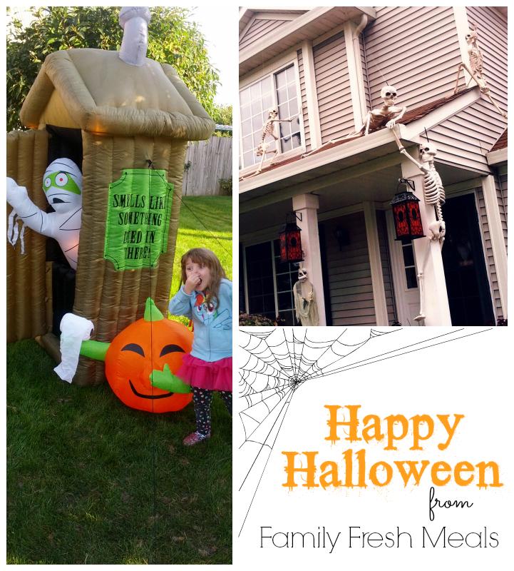 Fun Halloween Decorations from FamilyFreshMeals.com