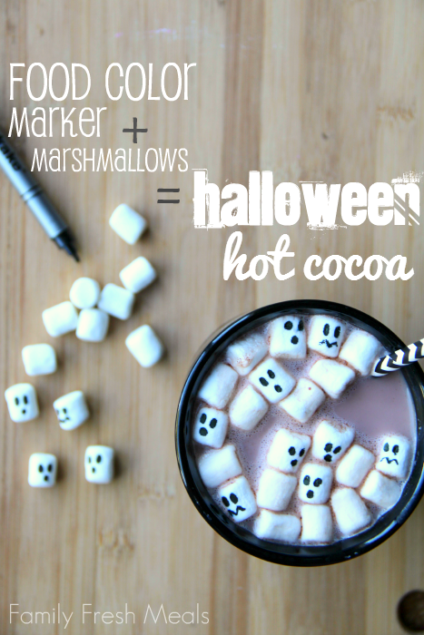 Halloween Hot Cocoa - FamilyFreshMeals.com