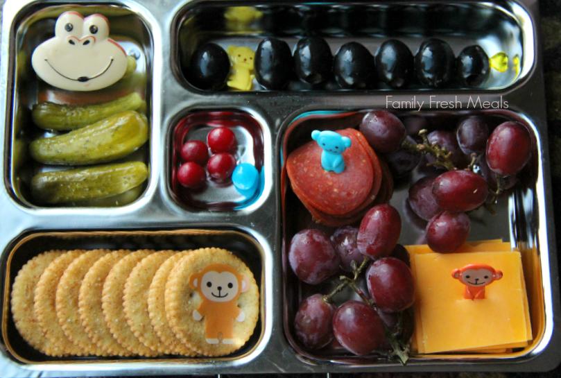 Lunchbox Ideas- Monkey Lunch
