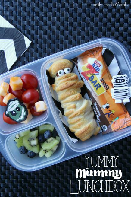 More Fun Halloween Lunchbox ideas for kids -_ Mummy Lunch