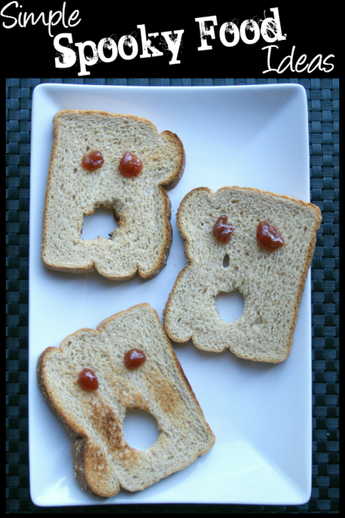 Simple Spooky Food for Halloween -- FamilyFreshMeals.com