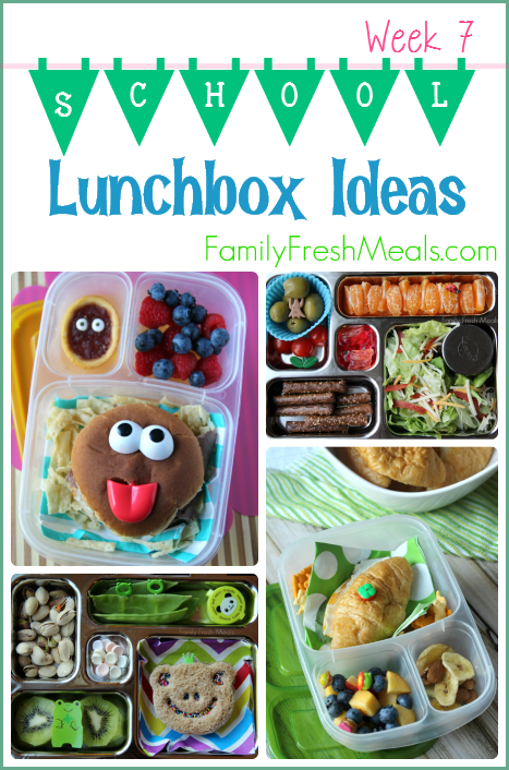Week 7 - Lunchbox Ideas -- Family Fresh Meals