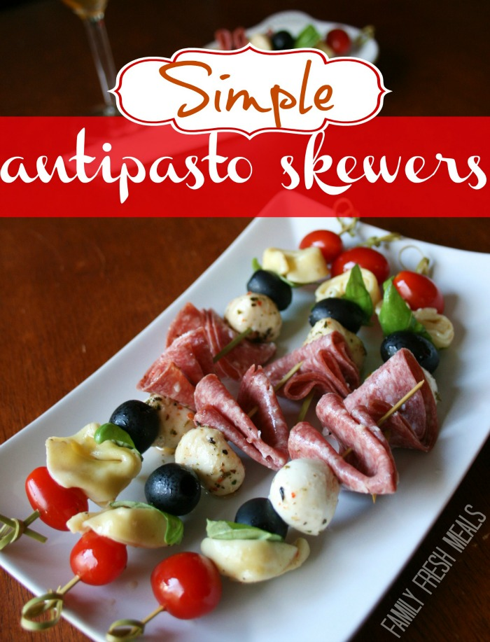 Simple Antipasto Skewers