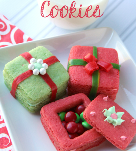 Crafty Holiday Cookies For Kids 3d Present Cookies