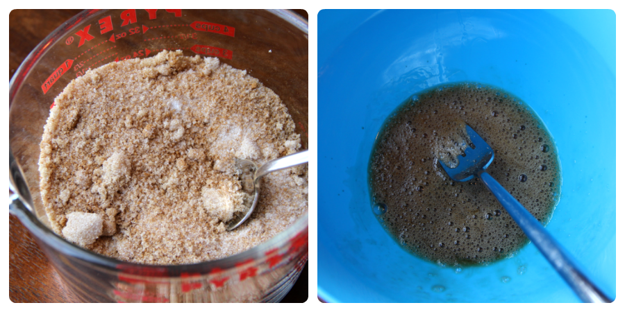 Crockpot Candied Pecans - Step 1 & 2